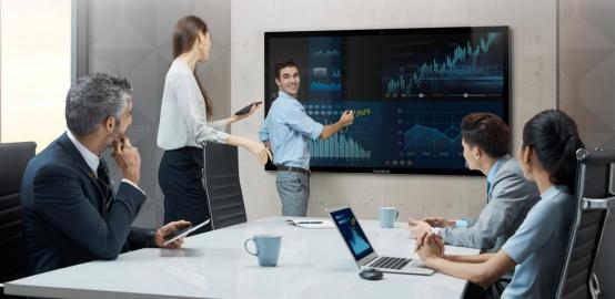 MAXHUB会议平板与交互式电子白板是取代还是互补