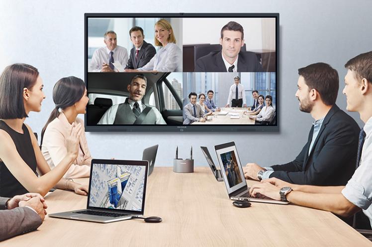 会议平板协同互动