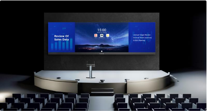 LED一体机宽幕+电子讲台
