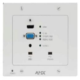 AMX安玛思 - DXLink™ 多格式墙装面板发射器