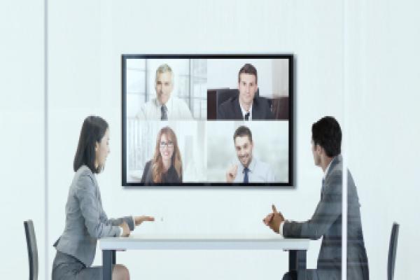 """银行网点""""营销沟通""""- MAXHUB智能会议平板案例"""