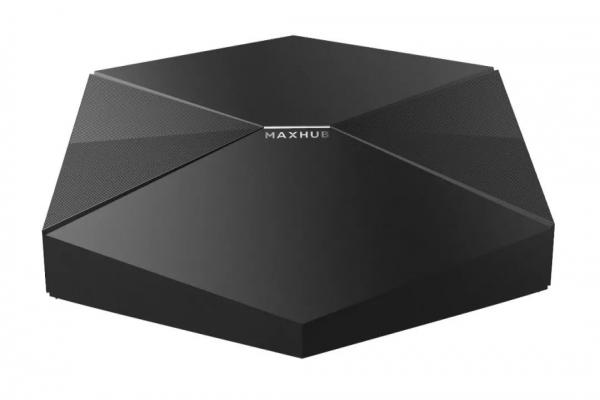 MAXHUB传屏盒子,手机或电脑无线投屏