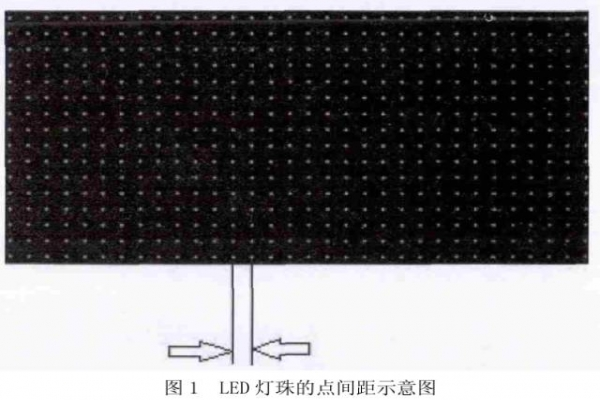 小间距LED:灯珠缩小对显示屏的影响