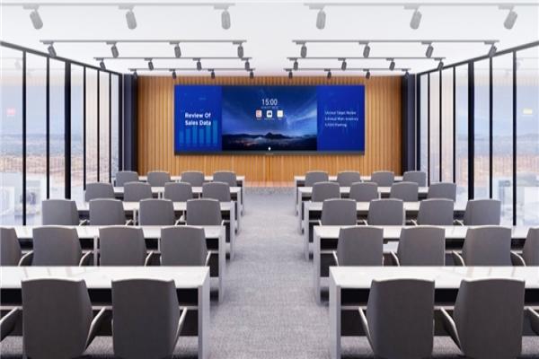 """在MAXHUB智能会议平板之外,还有一款LED一体机引领着""""大尺寸""""会议潮流"""
