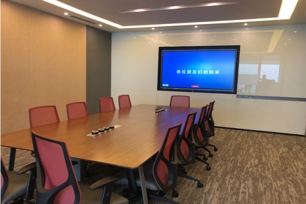 高端智能会议室改造最新方案,现代化会议室首选!-上海崎纳智能办公解决方案提供商