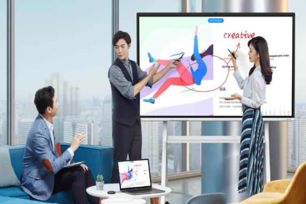 完美适配各类现代化办公环境的会议平板怎么选?MAXHUB V5时尚版