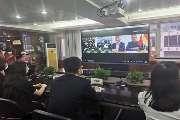 """招商新模式 广东等多地用MAXHUB""""云签约""""开启复工"""
