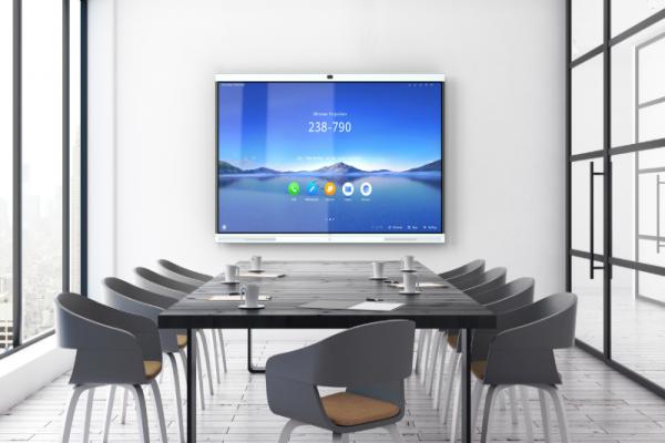 华为企业智慧屏——数字化通信与协作的企业会议工具