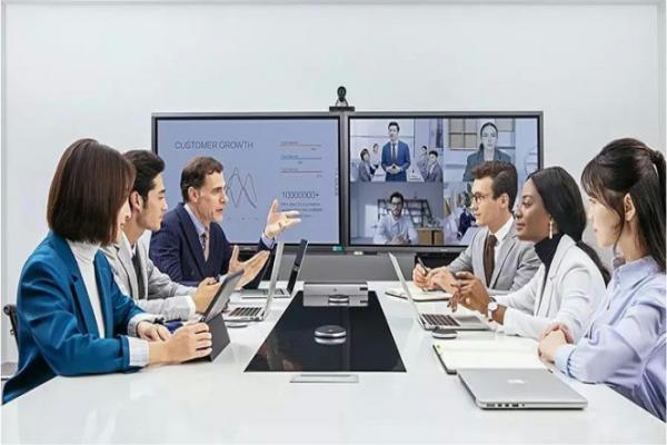 华为企业智慧屏——真正一台屏解决远程会议问题