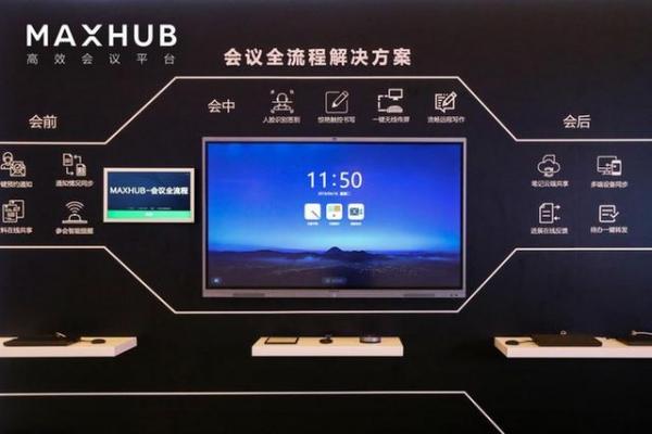 MAXHUB智能会议解决方案助力企业转型升级
